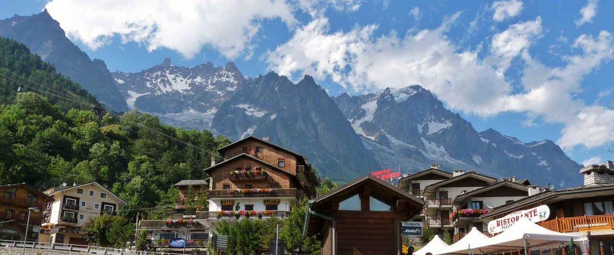 Courmayeur - La Palud village