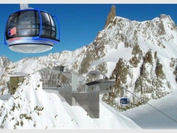 Mont Blanc Cable Car Sky Way